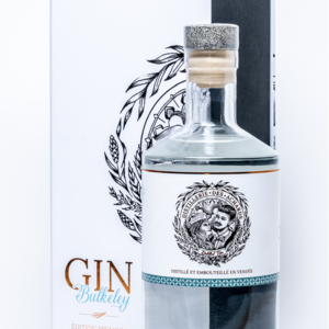 Bouteille de Gin Bulkeley Pack (bouteille et emballage)